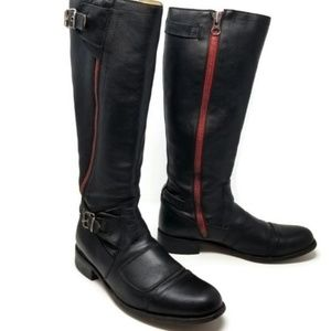 Sendra riding knee high boots size 8